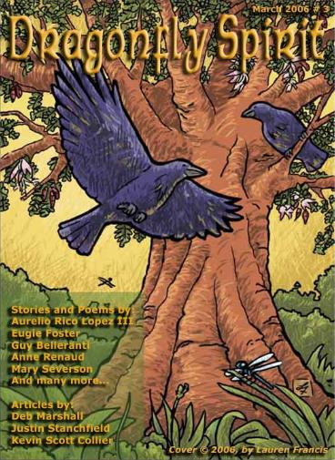 March 2006 Cover of Dragonfly Spirit